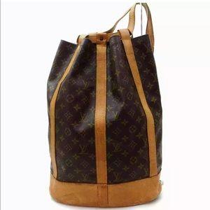 Louis Vuitton Monogram Randonnee GM Backpack